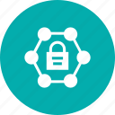 lock, padlock, secure, security, server icon