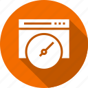 analyzer, internet, test, web, website icon