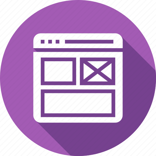 design, layout, template, web icon