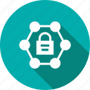 lock, padlock, secure, security, server, sharing icon