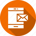 email, mail, massage, message, mobile icon