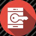 application, key, mobile, phone icon