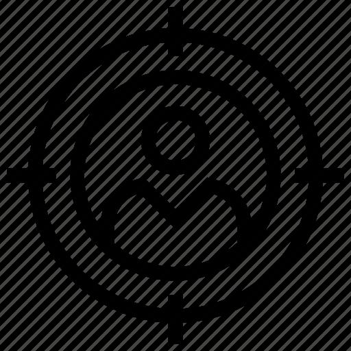Customer target, marketing, seo, target user, user target icon icon - Download on Iconfinder