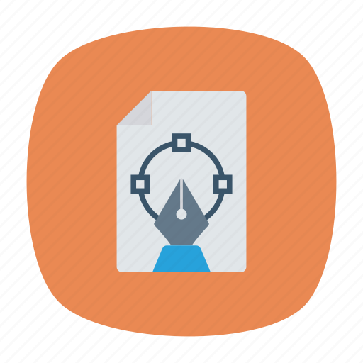 design, document, file, illustration icon