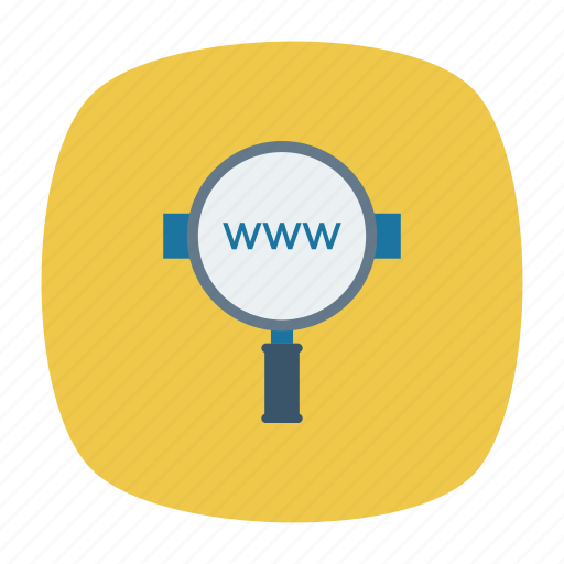 browser, magnifier, search, zoom icon