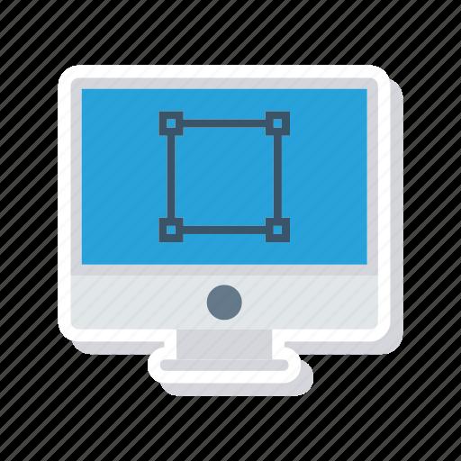 device, display, monitor, screen icon