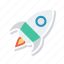 boost, rocket, spaceship, speedup icon