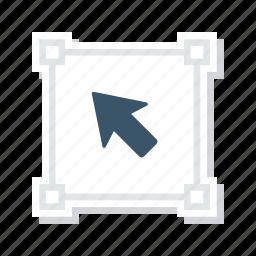 click, cursor, mouse, pointer icon