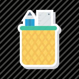 design, draw, jar, pencil icon