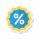 discount, offer, sale, sticker icon