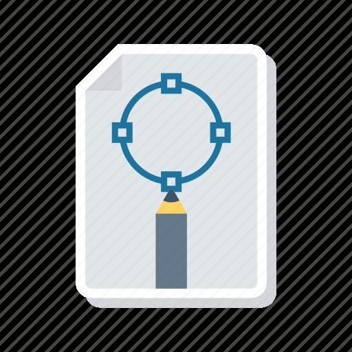 art, design, document, page icon