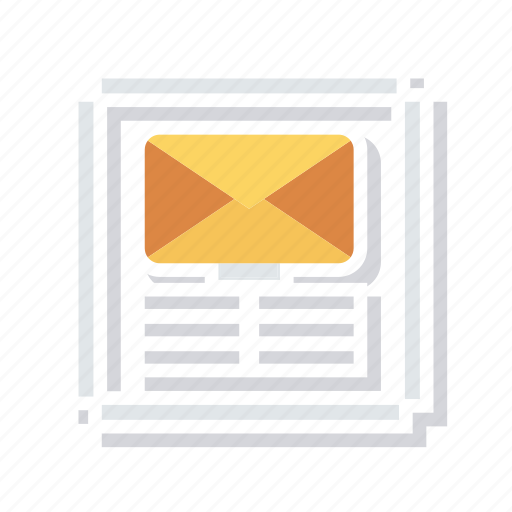 email, inbox, mails, message icon