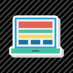device, gadget, laptop, responsive icon