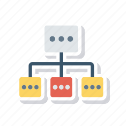 connect, connection, network, technology icon