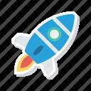 boost, rocket, spaceship, startup icon