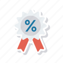 discount, offer, sale, sticker icon