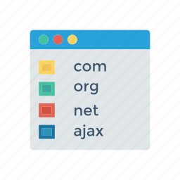 browser, internet, online, webpage icon