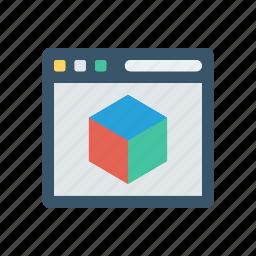 browser, internet, web, window icon