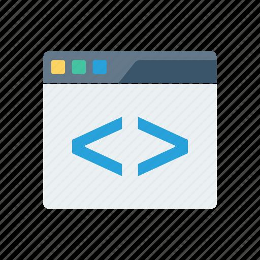 coding, development, programming, scripting icon
