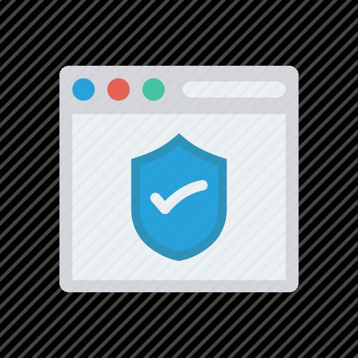 antivirus, browser, security, webpage icon