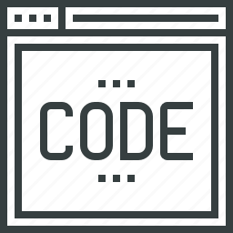 code, coding, development, internet, programming, web, website icon