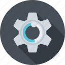 cogwheel, creativ, creative, gear, preference, process, setting icon