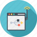 connection, connectivity, internet, network, web icon