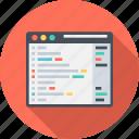 design, development, paragraph, website icon