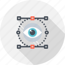 design, eye, review, search, view, vision, watch icon