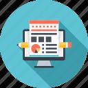 design, designing, development, layout, web icon