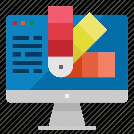 color, computer, custom, schemw, theme icon