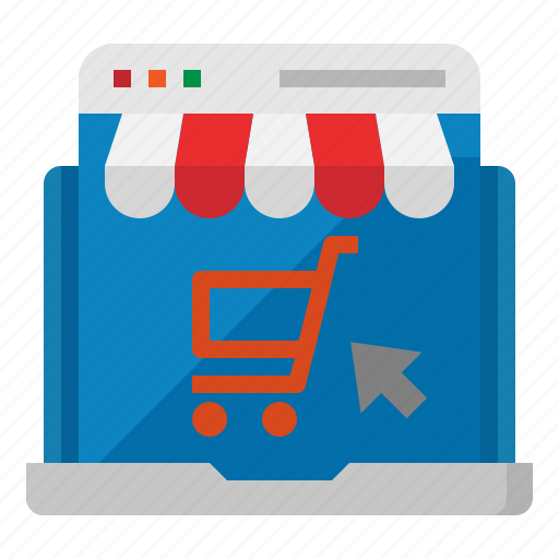 online, shop, shopping, store, web icon