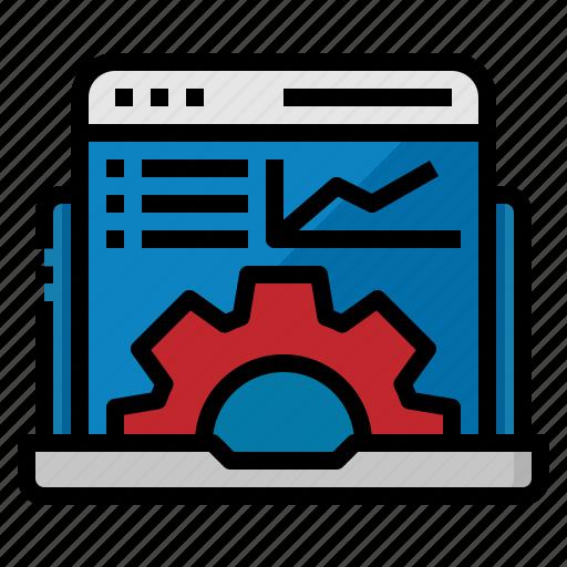 application, custom, feature, laptop, program icon