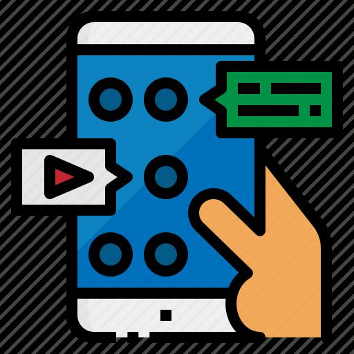 app, application, development, mobile, phone icon