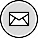development, email, mail, onilne, technology, web icon
