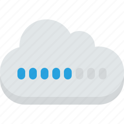 backup, cloud, communication, computing, data, download, global, hosting, internet, loading, network, networking, server, storage, transfer, upload, web icon