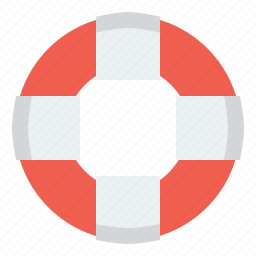 emergency, guard, help, insurance, life buoy, lifebuoy, lifeguard, lifesaver, preserver, protection, rescue, safety, support, survival, swimming icon