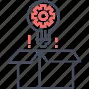 box, idea, package, seo, web