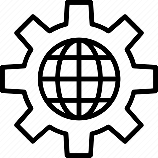 cogwheel, gear, global settings, settings icon