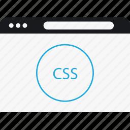 circle, css, language, program icon