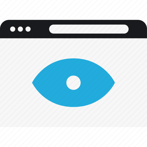 eye, language, look, program, search icon