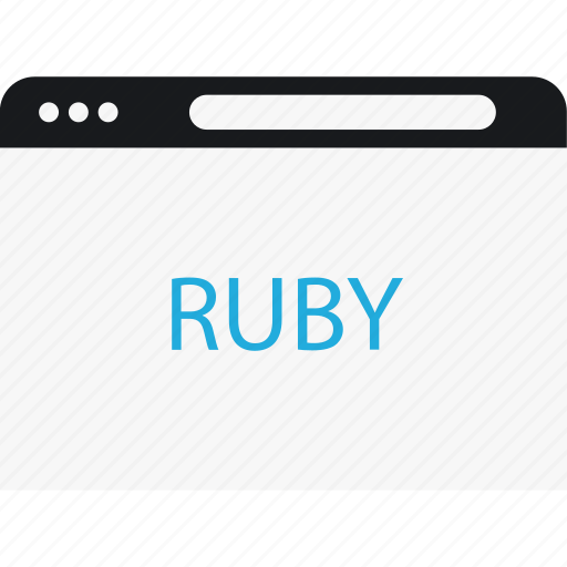 internet, language, program, ruby icon