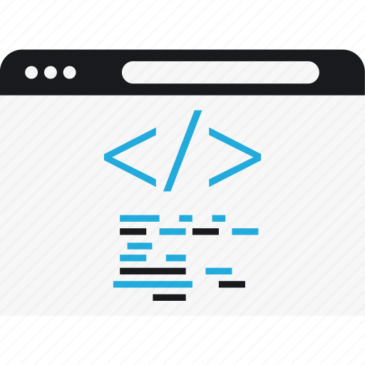code, language, program, script icon