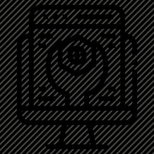 configuration, feature, option, setting, theme icon