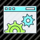 development, optimization, web, website, cogwheels