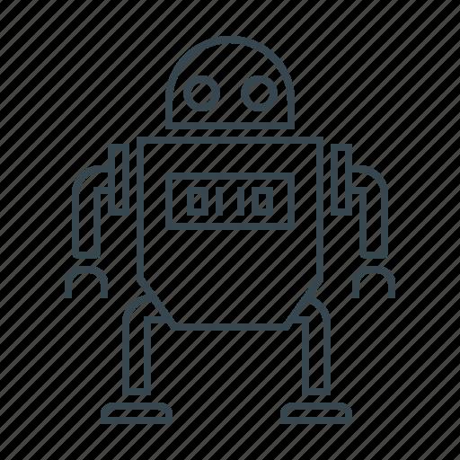 programm, robot, robotic, technology icon