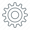 cogwheel, configuration, gear, setting, system icon