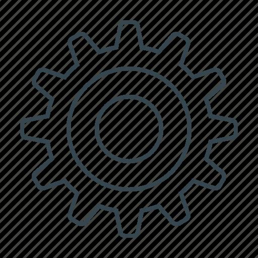 cogwheel, configuration, gear, setting, system icon