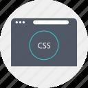 circle, css, language, programming icon