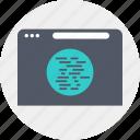 internet, language, programming, script icon